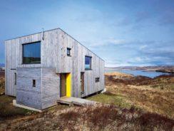 Timber clad selfbuild property