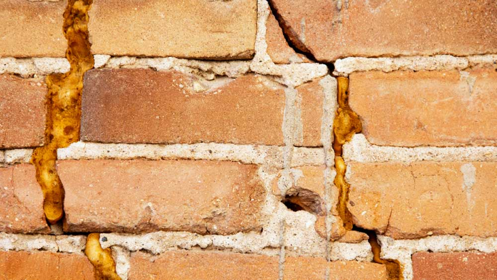 Settlement Cracks And Subsidence Cracks Including Cracks