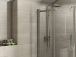 Installing a shower enclosure