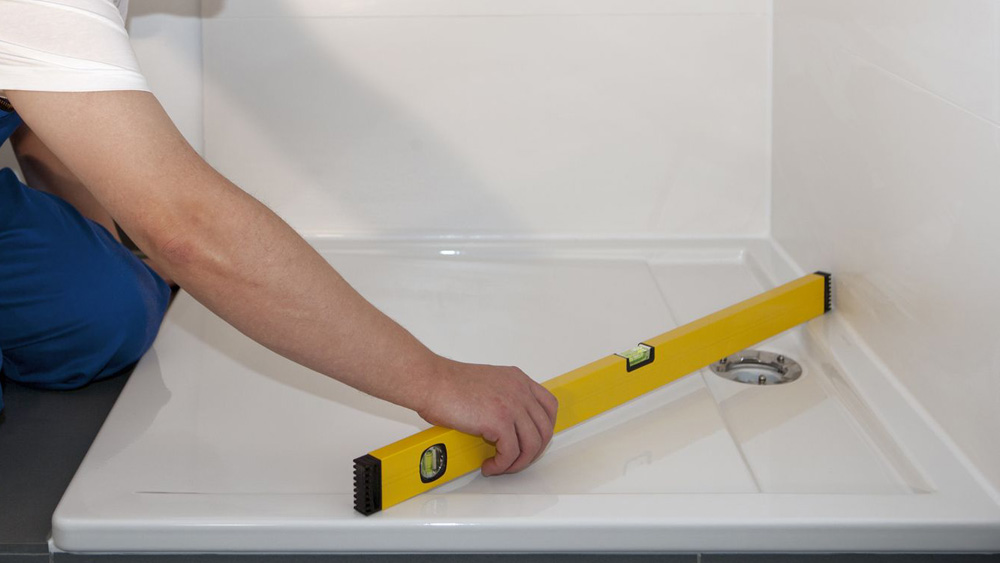 How To Fit A Shower Tray Ing