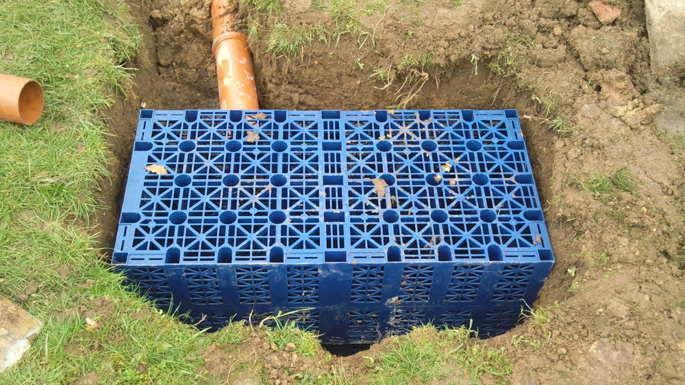Construction Detail Of Storm Water Drain Catch Basin