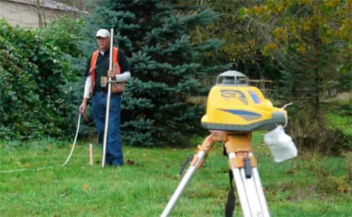 Soil survey in progress