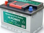 Battery suitable for solar power systems