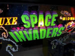 Space Invaders and arcade machines