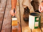 How to Stain Timber Decking