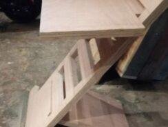 Standing desk attachment for standard desk