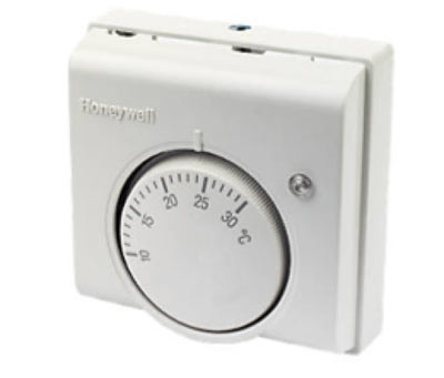 A simple room thermostat