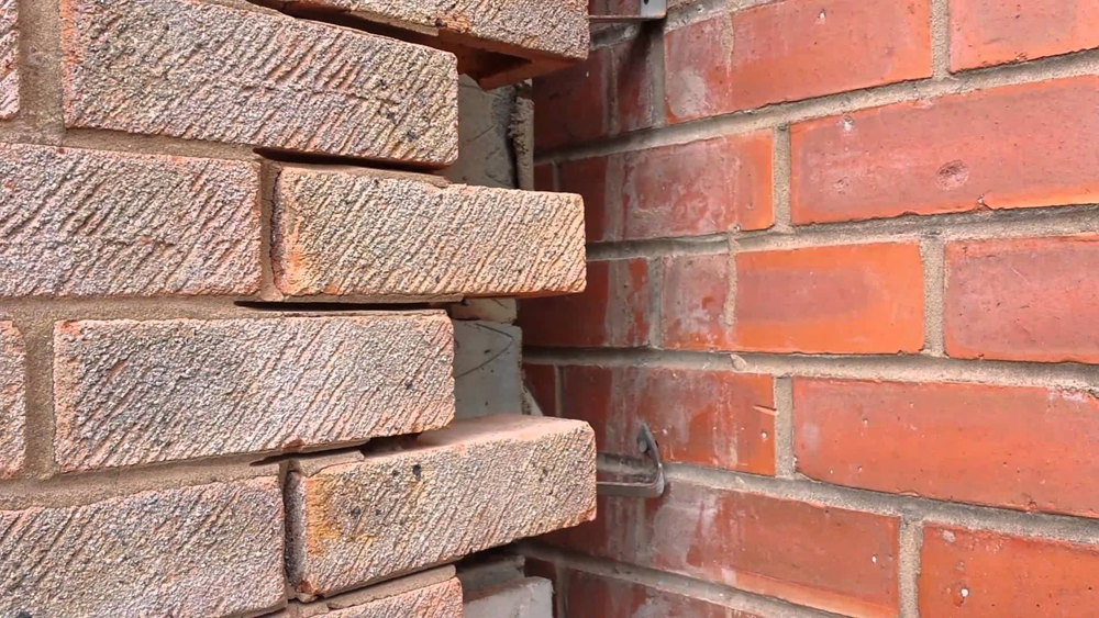 Tying To Existing Brickwork And Blockwork Bonding And