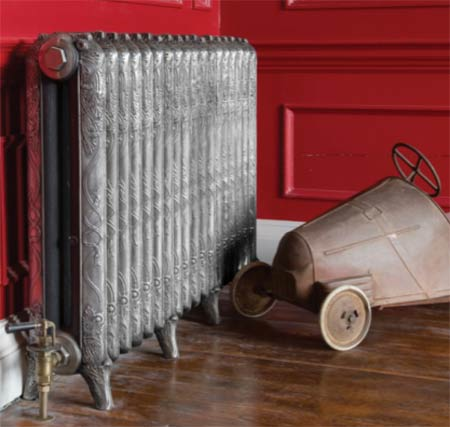 A traditional radiator
