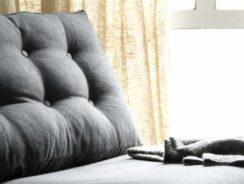 Button tufted sofa