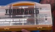 Turbogold wood screws