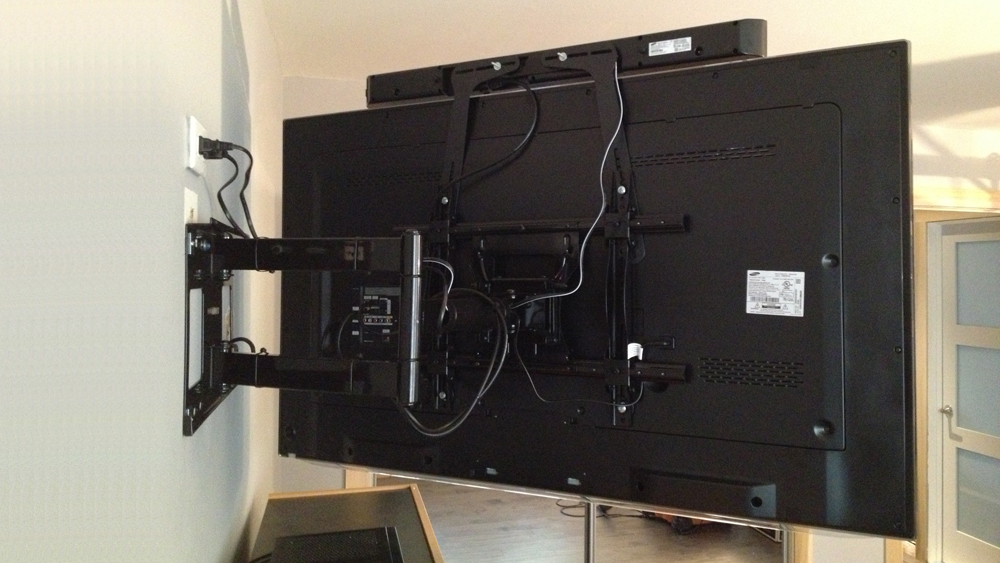 Installing A Tv Wall Bracket To Hang A Flat Screen Tv On A