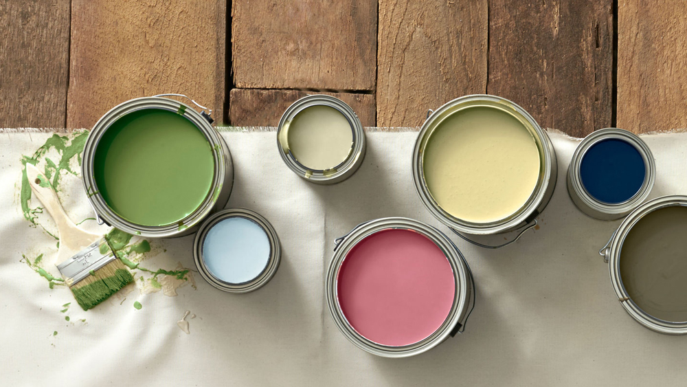 Types Of Interior Paint And Paints For Different Surface