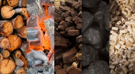 Types of solid fuel