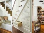 Storage solutions for under the stairs