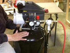 Using a Compressor