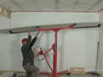 Using a Plasterboard Lifter to Move and Position any Size of Plasterboard