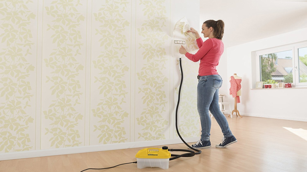 How to use a Wallpaper Steamer to Strip Wallpaper From Walls | DIY Doctor
