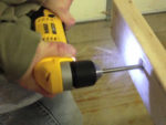 Using an Angled Drill