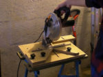 Using a Worktop Mitre Jig