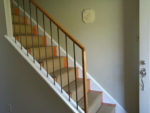 Wallpapering a Stairwell