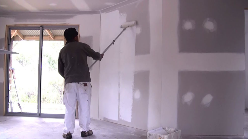How To Prepare New Plaster For Wallpaper And Drywall For