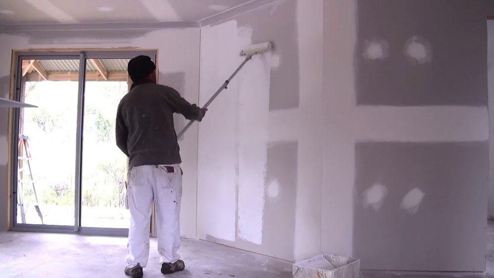 Preparing New Plaster For Wallpaper Diy Doctor