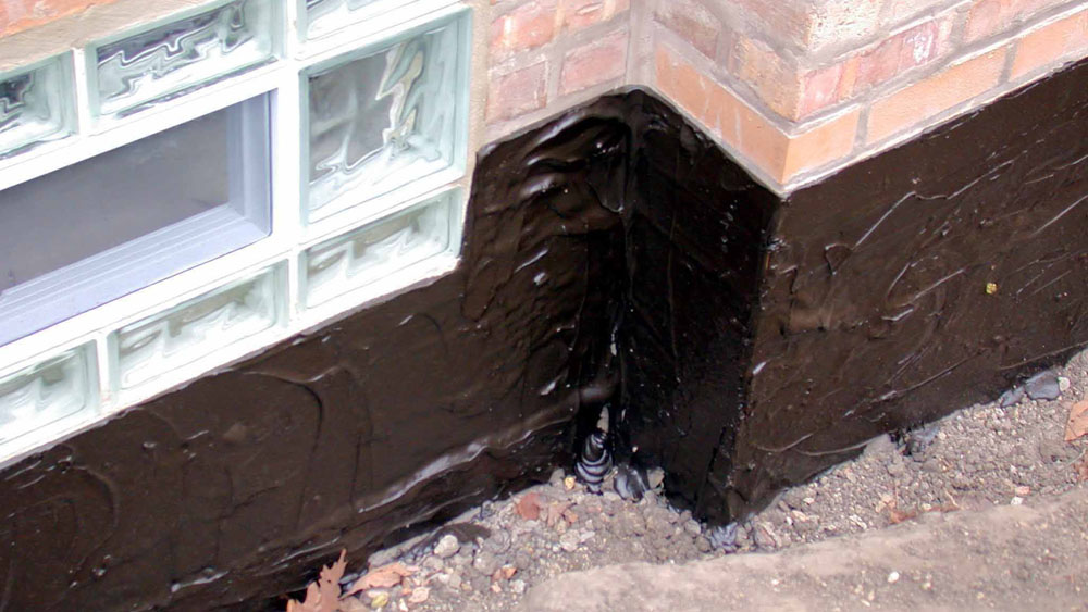 Black Waterproof Paint For Brickwork