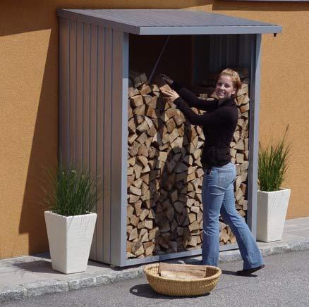 Log storage area
