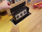How to Fit a Pop up or Pull up Socket unit into a Kitchen Worktop