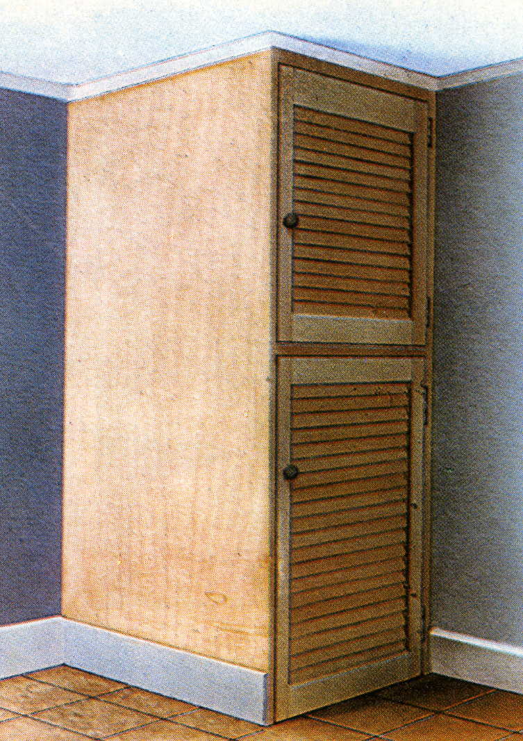 How To Build A Basic Cupboard Timber Frames For Storage Units Diy Doctor