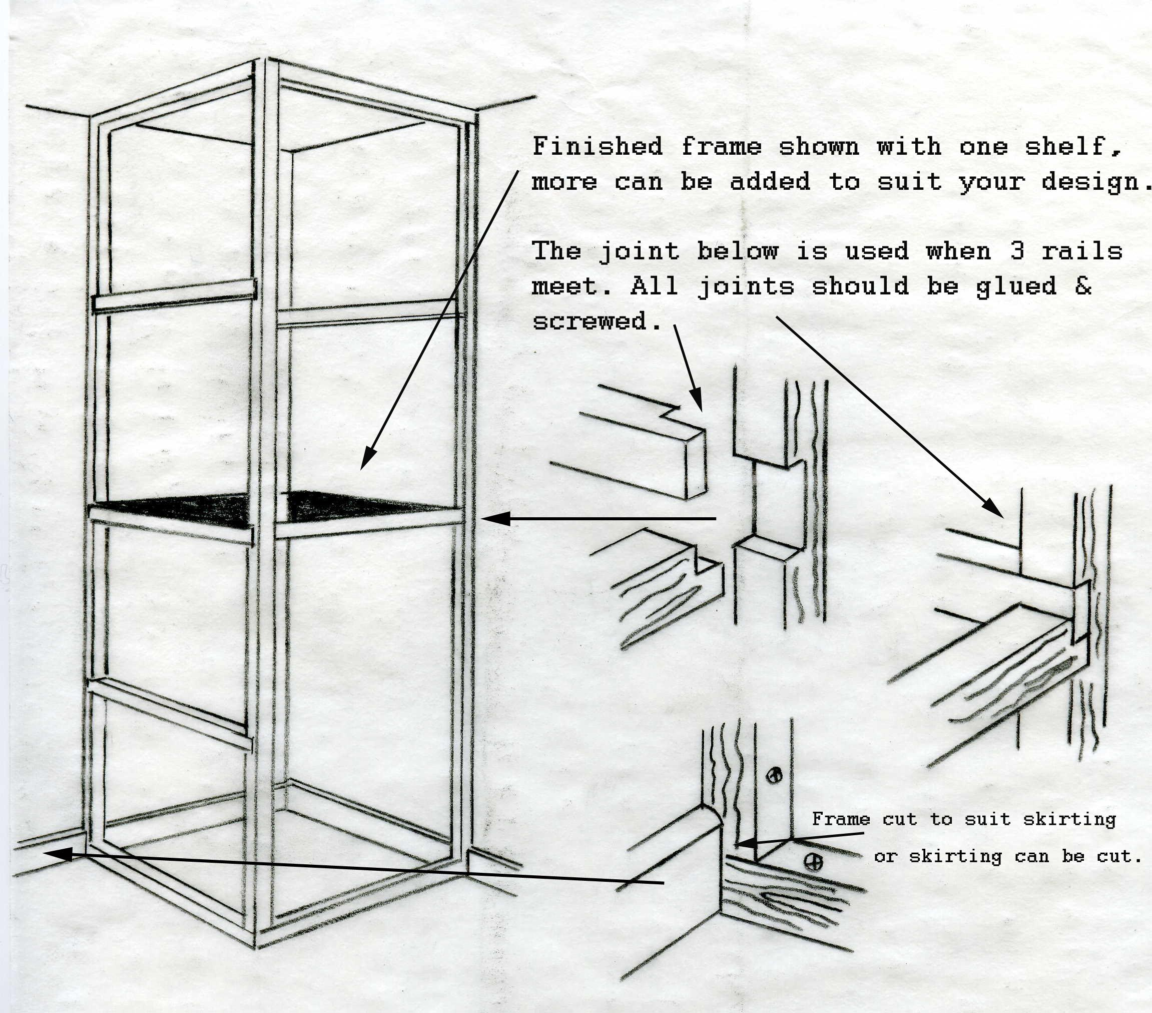 Timber Cupboard Plan