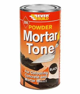 Mortar tone used to colour mortar