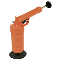 Right angle handle operated Plunger