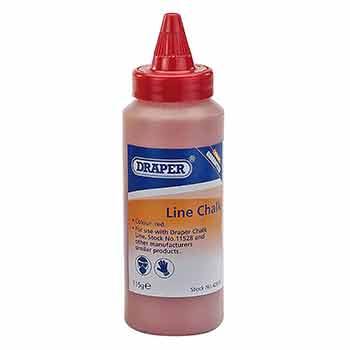 Red chalk line chalk