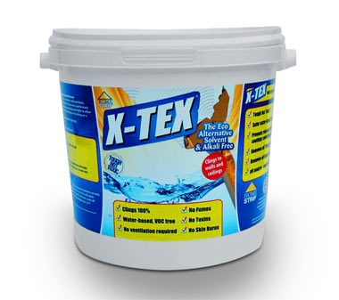 X-Tex textured surface remover available from Eco Solutions
