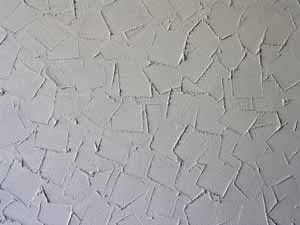 Artex Knifed Plaster effect