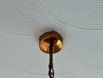 Artex on ceiling
