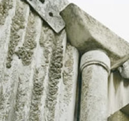 Asbestos cladding, guttering and downpipe