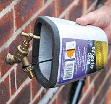 Insulate Outside Taps Easily