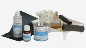 Bath refinishing kit