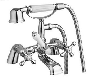 Bath and shower mixer tap