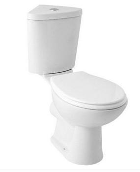 Comfort height toilet or pan