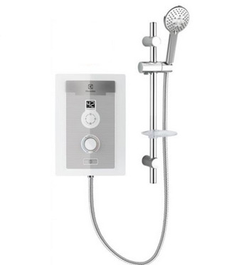 Digitally controlled shower