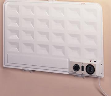 Oil fired sealed panel radiator