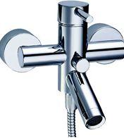 Contemporary bath taps