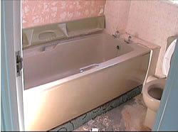 Old bathroom suite