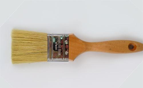 Animal hair paint brush