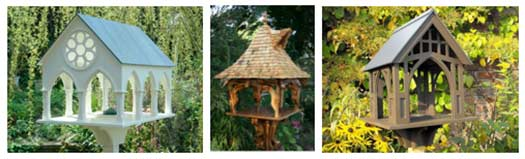 Bespoke Bird Table Ideas With Complex Designs