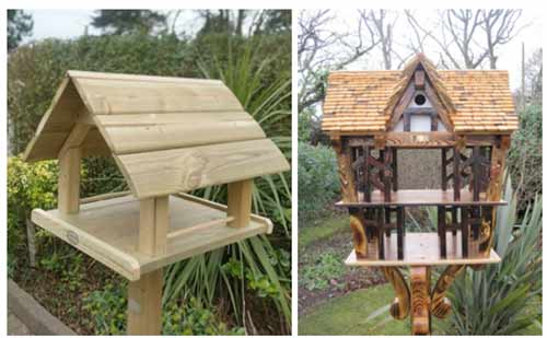 Simple and Elaborate Bird Table Ideas